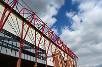 A general view of Oakwell, home of Barnsley FC<br /> <br /> Photographer Richard Martin-Roberts/CameraSport<br /> <br /> The EFL Sky Bet League One - Barnsley v Fleetwood Town - Saturday 13th April 2019 - Oakwell - Barnsley<br /> <br /> World Copyright &not;&copy; 2019 CameraSport. All rights reserved. 43 Linden Ave. Countesthorpe. Leicester. England. LE8 5PG - Tel: +44 (0) 116 277 4147 - admin@camerasport.com - www.camerasport.com