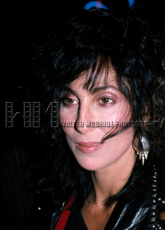 CHER.Los Angeles, California.September 1988.© Walter McBride/WM Photography