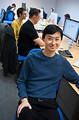 Thai Tran, Founder and CEO of Lightbox, a company developing a new photo-blogging platform, one of many tech start-ups based in Shoreditch, London, a run-down commercial district also known as Silicon Roundabout.
