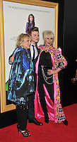 New York,NY-May 18: Jennifer Saunders , Chris Colfer and Joanna Lumley attend the 'Absolutely Fabulous: The Movie' New York premiere at SVA Theater on July 18, 2016 in New York City. @John Palmer / Media Punch
