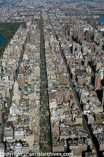 Aeriaaerial Photograph Park Avenue Upper East Side