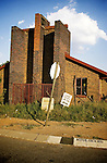 A church in Soweto. April 2009