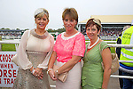 Enjoying Ladies Day at the Listowel Races on Friday were: Ina O'Leary, Mary Mangan and Gretta Marie Kerins, Tralee.