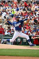 Zach Lee - Los Angeles Dodgers 2016 spring training (Bill Mitchell)