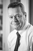 Portrait of Tony Ashton, Executive Director of A&M Wealth Management. Manchester, United Kingdom, 12/02/15.