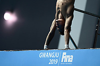 Jian Jang CHN China <br /> Gwangju South Korea 19/07/2019<br /> Men's 10m Platform Preliminary <br /> 18th FINA World Aquatics Championships<br /> Nambu University Aquatics Center  <br /> Photo © Andrea Staccioli / Deepbluemedia / Insidefoto