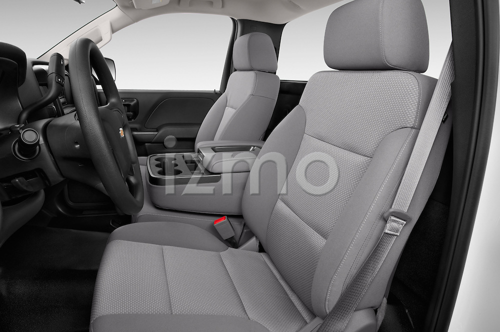 Front seat view of a 2015 Chevrolet Silverado 2500 Hd Work Truck Regular Cab Lwb 2 Door Pickup 2WD Front Seat car photos