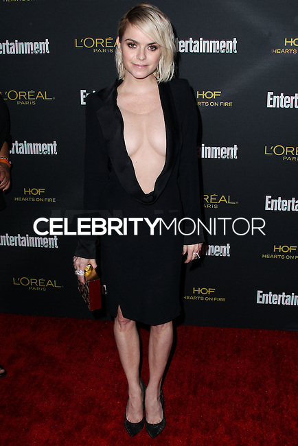 WEST HOLLYWOOD, CA, USA - AUGUST 23: Taryn Manning arrives at the 2014 Entertainment Weekly Pre-Emmy Party held at the Fig & Olive on August 23, 2014 in West Hollywood, California, United States. (Photo by Xavier Collin/Celebrity Monitor)