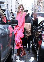 NEW YORK, NY March 08: Martha Hunt seen at Good Day NY in New York City on March 8, 2018 <br /> CAP/MPI/RW<br /> &copy;RW/MPI/Capital Pictures