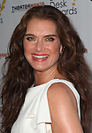 Brooke Shields pictured at the 57th Annual Drama Desk Awards held at the The Town Hall in New York City, NY on June 3, 2012. © Walter McBride / Retna Ltd