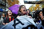 Manifestation contre la réforme des retraites. Samedi 6 novembre 2010. Photo Benjamin Géminel.
