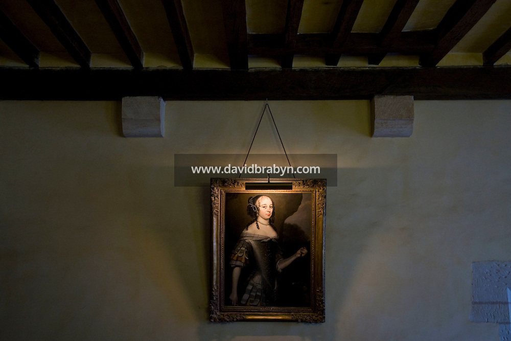 View of a room in the Clos Luce mansion, Leonardo da Vinci's last home, in Amboise, France, 26 June 2008.