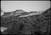 Trestle possibly in Embudo area on Barranca Hill.<br /> D&amp;RGW  Embudo area, NM