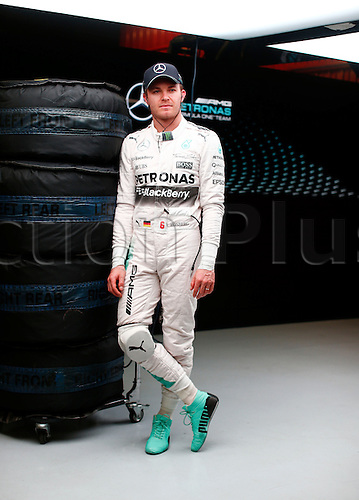 28.02.2015. Barcelona, Spain. F1 winter testing at Circuit de Barcelona.  Motorsports: FIA Formula One World Championship 2015, Test in Barcelona,  <br />