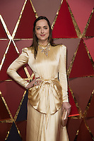 www.acepixs.com<br /> <br /> February 26 2017, Hollywood CA<br /> <br /> Dakota Johnson arriving at the 89th Annual Academy Awards at Hollywood &amp; Highland Center on February 26, 2017 in Hollywood, California.<br /> <br /> By Line: Z17/ACE Pictures<br /> <br /> <br /> ACE Pictures Inc<br /> Tel: 6467670430<br /> Email: info@acepixs.com<br /> www.acepixs.com