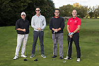 From left are Mark Platt, Andrew Gore, Ed Wright and Duncan James of Team Shakespeare Martineau