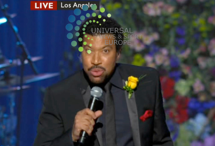 .Lionel Ritchie at the Staples Center for Michael Jackson tribute..Picture: 07/07/09 Universal News and Sport (USA). (Universal News does not claim any Copyright or License in the attached material. Any downloading fee charged by Universal News and Sport is for Universal News services only. We are advised that videograbs should not be used more than 48 hours after the time of original transmission, without the consent of the copyright holder).