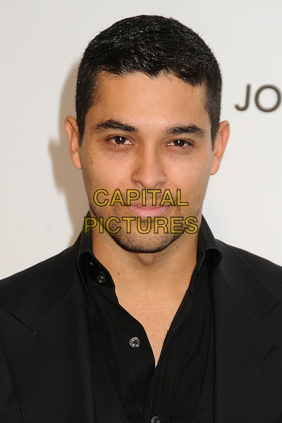 Wilmer Valderrama.21st Annual Elton John Academy Awards Viewing Party held at West Hollywood Park, West Hollywood, California, USA..February 24th, 2013.oscars headshot portrait black shirt suit stubble facial hair .CAP/ADM/BP.©Byron Purvis/AdMedia/Capital Pictures.
