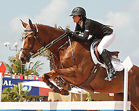 Cylana ridden by Reed Kessler,  USEF trials#2 Wellington Florida. 3-22-2012