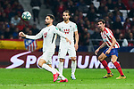 Stefan Savic of Atletico de Madrid during La Liga match between Atletico de Madrid and Granada CF at Wanda Metropolitano Stadium in Madrid, Spain. February 08, 2020. (ALTERPHOTOS/A. Perez Meca)