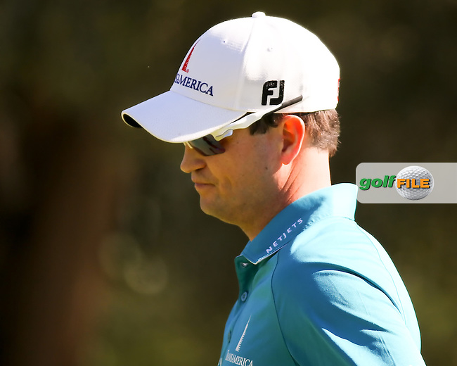 16 OCT 13 Zach Johnson during Wednesday's practice round at The Shriners Childrens Hospitals Open at The TPC at Summerlin in Las Vegas, Nevada.  (photo:  kenneth e.dennis / kendennisphoto.com) Picture: Ken Dennis www.golffile.ie