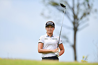 SINGAPORE - FEBRUARY 01: Jeongeun Lee6 on the 6th tee during the second round of the HSBC Women's World Championship 2019 at Sentosa Golf Club - Tanjong Course, Singapore on March 01, 2019.<br /> .<br /> .<br /> .<br /> (Photo by: Naratip Golf Srisupab/SEALs Sports Images)<br /> .<br /> Any image use must include a mandatory credit line adjacent to the content which should read: Naratip Golf Srisupab/SEALs Sports Images