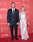 Liev Schreiber and Naomi Watts attends LACMA's 50th Anniversary Gala held at LACMA in Los Angeles, California on April 18,2015                                                                               © 2015 Hollywood Press Agency