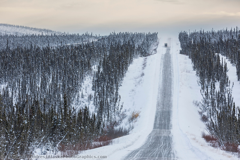James Dalton Highway, Arctic, Alaska.