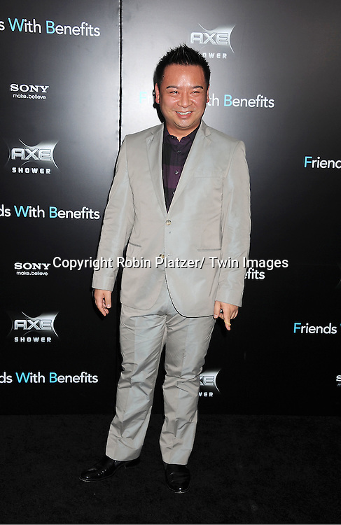 """Rex Lee attending the New York Premiere of """"Freinds With Benefits"""" on July 18, 2011 at The Ziegfeld Theatre in New York City. The movie stars Justin Timberlake, Mila Kunis, Emma Stone, Patricia Clarkson, Jenna Elfman and Bryan Greenberg."""