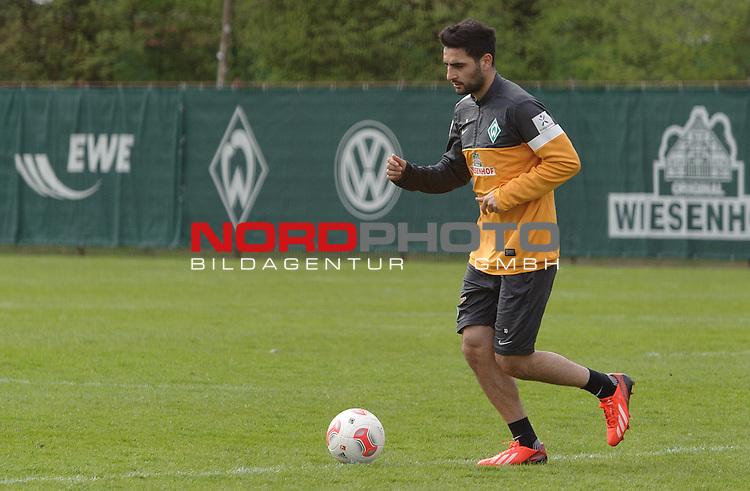 03.05.2013, Trainingsgelaende, Bremen, GER, 1.FBL, Training Werder Bremen, im Bild Mehmet Ekici (Bremen #10)<br /> <br /> Foto &copy; nph / Frisch