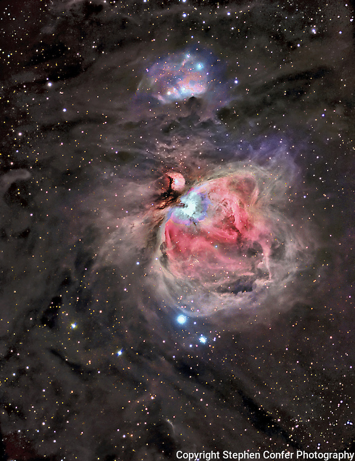 MESSIER 42 ASTROPHOTO ASTROIMAGES ASTRO ART  CCD IMAGING DEEP SPACE PHOTOGRAPY EMISSION NEBULA IN CYGNUS