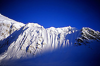The West Ridge of Mount Hunter from Denali's Base Camp, Alaska Range