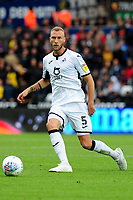 Mike van der Hoorn of Swansea City in action during the Sky Bet Championship match between Swansea City and Reading at the Liberty Stadium, Swansea, Wales, UK. Saturday 28 September 2019