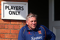 Essex head coach Chris Silverwood looks on during Yorkshire CCC vs Essex CCC, Specsavers County Championship Division 1 Cricket at Scarborough CC, North Marine Road on 7th August 2017