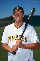 Pittsburgh Pirates Casey Hughston poses for a photo after instructional league practice on October 2, 2015 at Pirate City in Bradenton, Florida.  (Mike Janes/Four Seam Images)