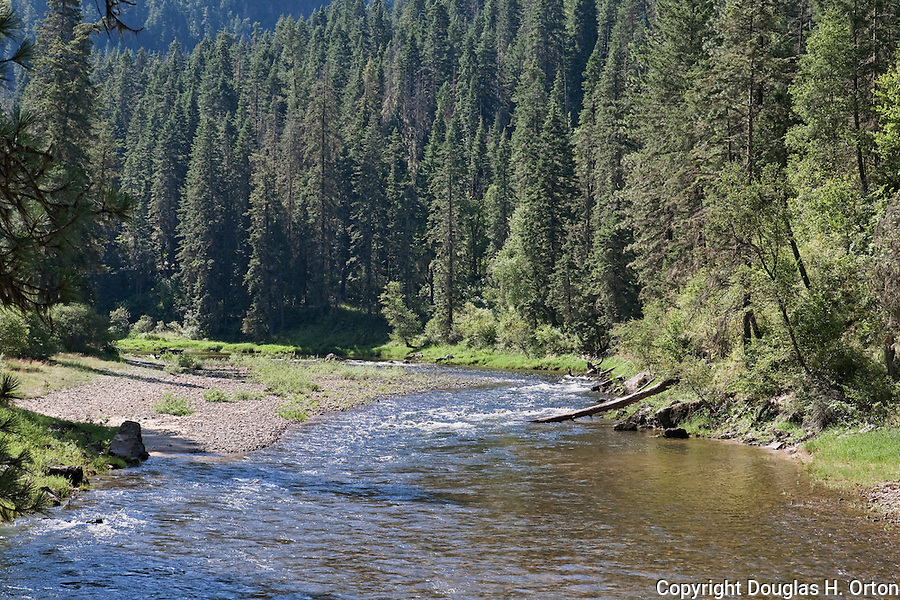 The Clearwater River, which is wholly within the State of Idaho, hosted Native Americans