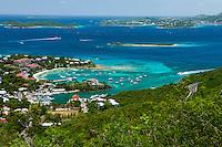 Cruz Bay, St. John<br /> US Virgin Islands