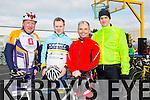 At the St Brendan's NS FENIT Coastal Cycle on Saturday were Joe Sheehy, Dave Walsh, Andrew Conway, Gerard Pierce