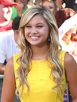 Olivia Holt arrives at the The Odd Life Of Timothy Green' - Los Angeles Premiere at the El Capitan Theatre on August 6, 2012 in Hollywood, California MPI28 / Medapunchinc /NortePhoto.com<br />