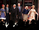 Kerry Butler, Eric McCormack,  James Earl Jones,  John Larroquette, Candice Bergen, Angela Lansbury.during the Broadway Opening Night Performance Curtain Call for 'Gore Vidal's The Best Man' at the Gerald Schoenfeld Theatre in New York City on 4/1/2012