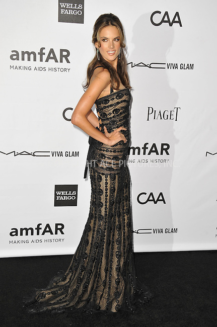 WWW.ACEPIXS.COM....October 11 2012, LA ....Alessandra Ambrosio arriving at the amfAR 3rd Annual Inspiration Gala at Milk Studios on October 11, 2012 in Los Angeles, California. ......By Line: Peter West/ACE Pictures......ACE Pictures, Inc...tel: 646 769 0430..Email: info@acepixs.com..www.acepixs.com
