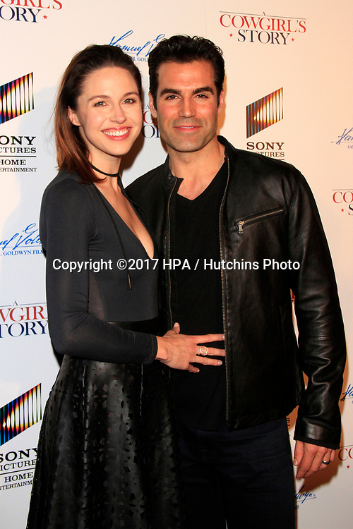 """LOS ANGELES - APR 13:  Kaitlin Riley Vilasuso, Jordi Vilasuso at the """"A Cowgirl's Story"""" Premiere at the Pacific Theatres at The Grove on April 13, 2017 in Los Angeles, CA"""