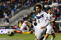 Chester, PA - Friday December 08, 2017: Stuart Holthusen The Stanford Cardinal defeated the Akron Zips 2-0 during an NCAA Men's College Cup semifinal match at Talen Energy Stadium.