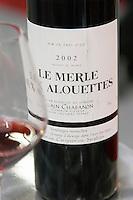 Vin de Pays d'Oc Le Merle aux Alouettes, Alain Chabanon, Languedoc, France