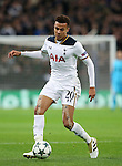 Tottenham's Dele Alli in action during the Champions League group E match at the Wembley Stadium, London. Picture date November 2nd, 2016 Pic David Klein/Sportimage