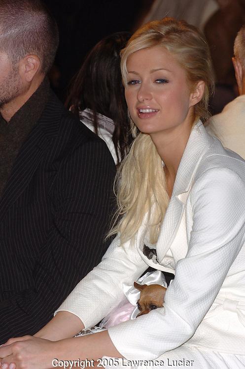 Paris Hilton and Tinkerbelle