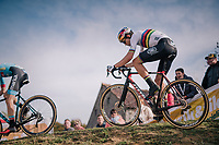 Elite Men CX World Champion Wout van Aert (BEL/Cibel-Cebon)<br /> <br /> GP Mario De Clercq / Hotond cross 2018 (Ronse, BEL)<br /> photo &copy;kramon