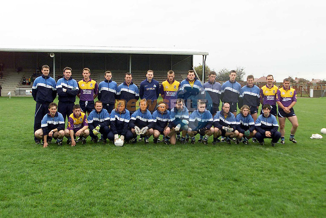 St. Annes who were beaten by Newtown Blues in the AIB Leinster Club Football Championship match in Drogheda on Sunday..Picture: Paul Mohan/Newsfile