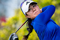 Danielle Kang of USA in act during day 4 of HSBC Women's World Championship 2018 at Sentosa Golf Club, Sentosa,, Singapore, on 4  March 2018, Singapore.  Photo by : Ike Li / Prezz Images