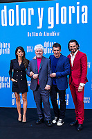 Penelope Cruz, Pedro Almodovar, Antonio Banderas and Asier Etxeandía attend the photocall of the movie 'Dolor y gloria' in Villa Magna Hotel, Madrid 12th March 2019. (ALTERPHOTOS/Alconada) /NortePhoto.con NORTEPHOTOMEXICO